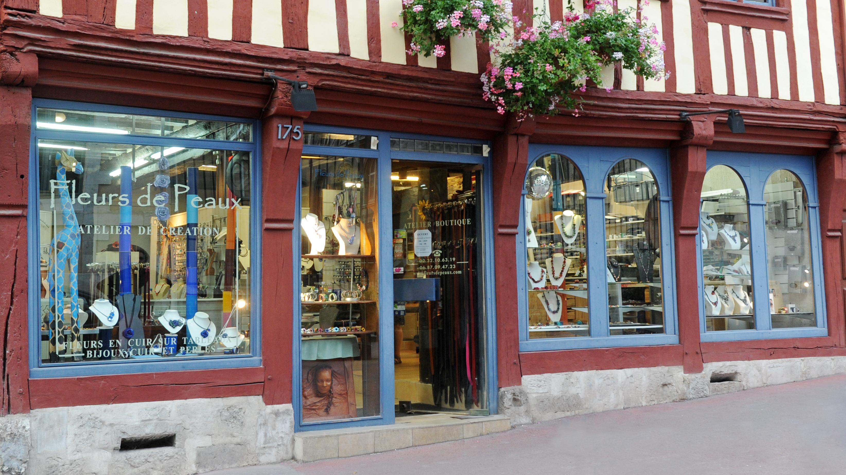 Façade 175 rue Beauvoisine Rouen